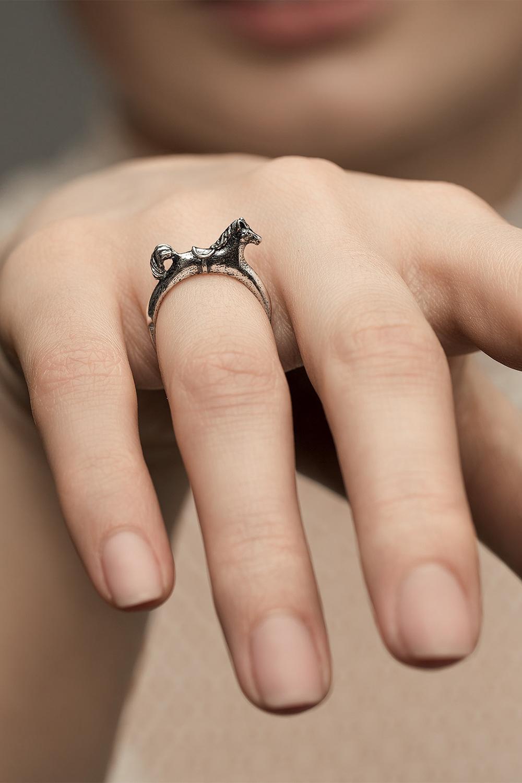 Детское кольцо «Лошадка»