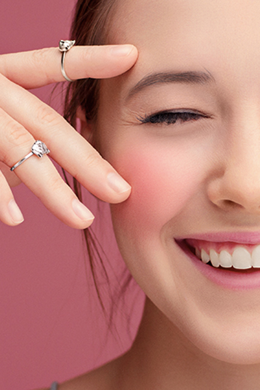 Кольцо на фалангу «Большой Енот»