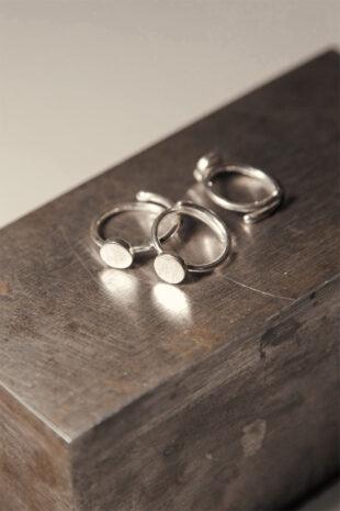 Кольцо на фалангу «Большой круг»