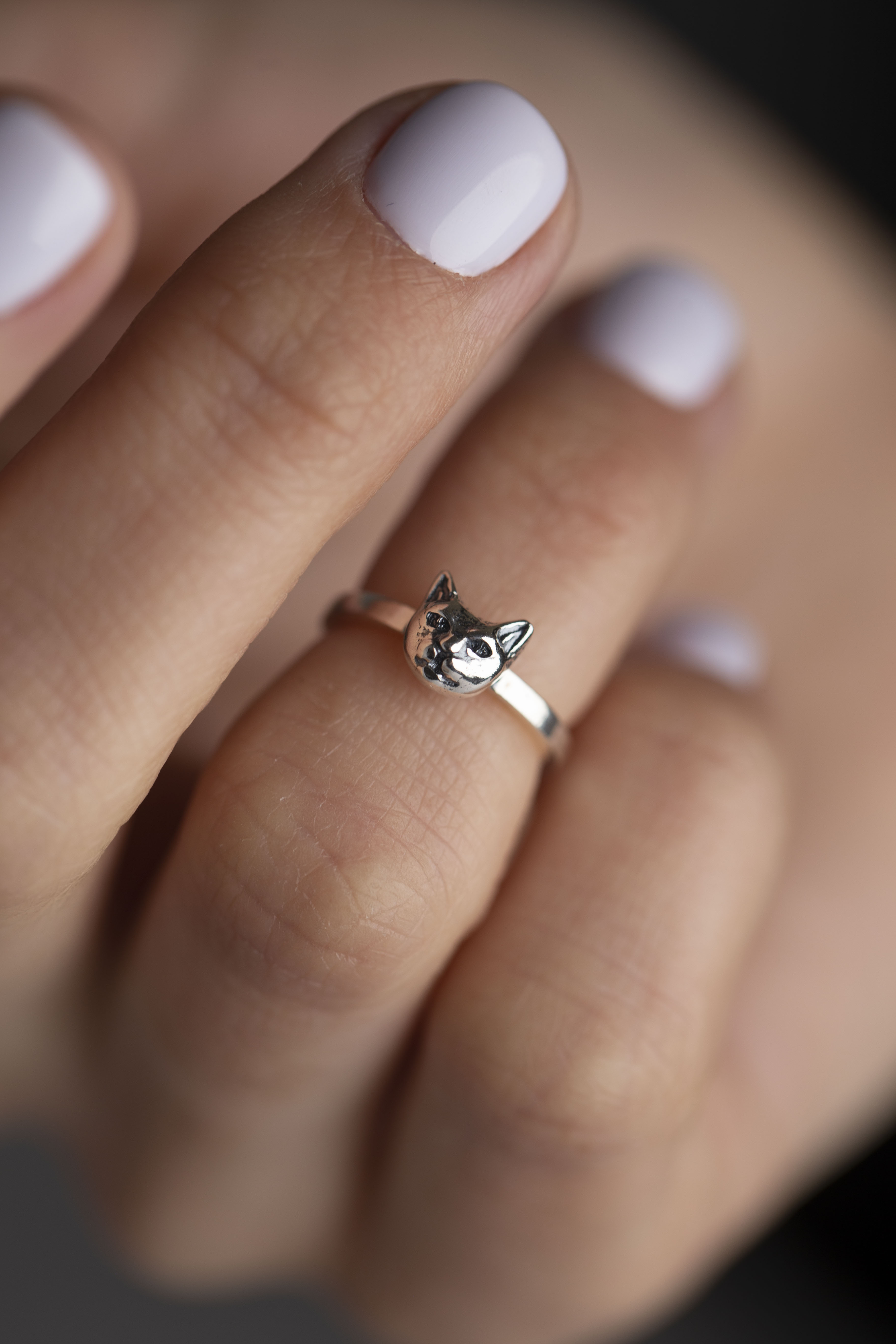 Кольцо на фалангу «Маленький круг»