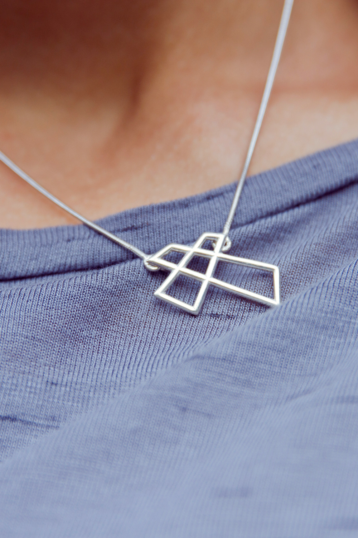 Ожерелье «Крест Модерн»