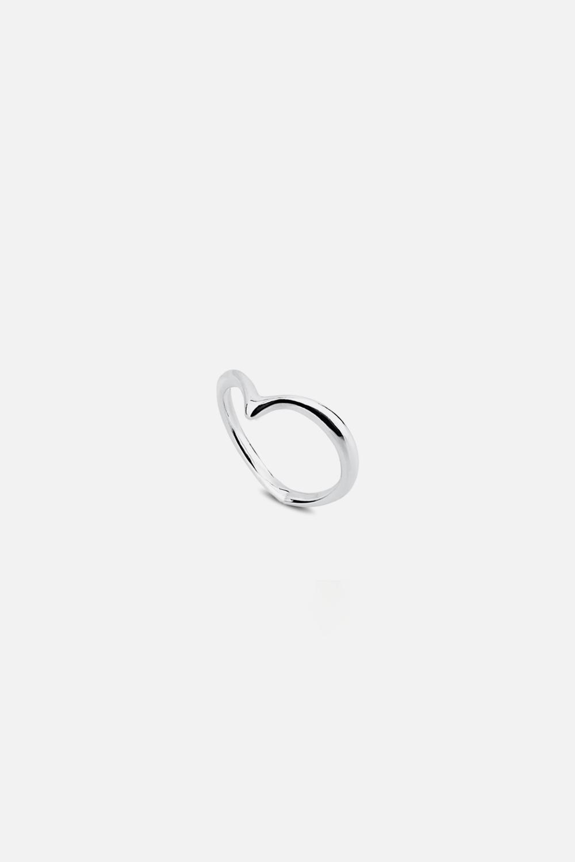 Кольцо на фалангу «Сердце»