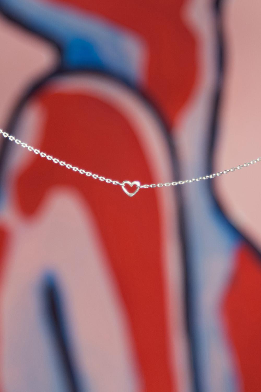 Ожерелье с сердечком