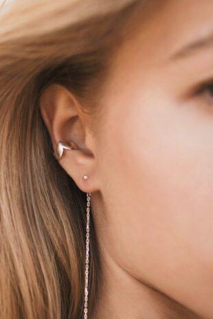 Кафф большой на середину уха