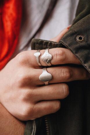 Перстень на основание пальца
