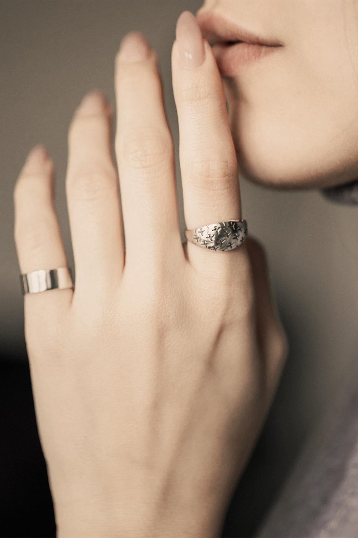 Кольцо Simple  широкое