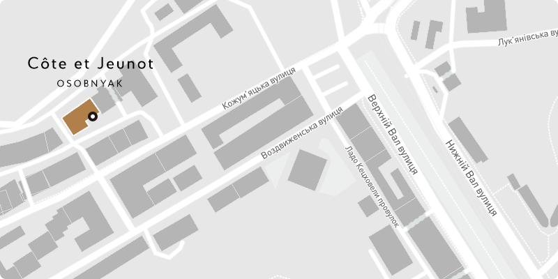 Cote Jeunot на карте