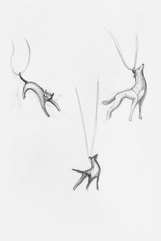 Ожерелье Бродячий пёс