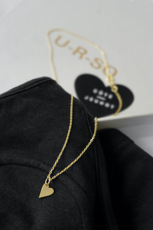 Черный комплект с ожерельем