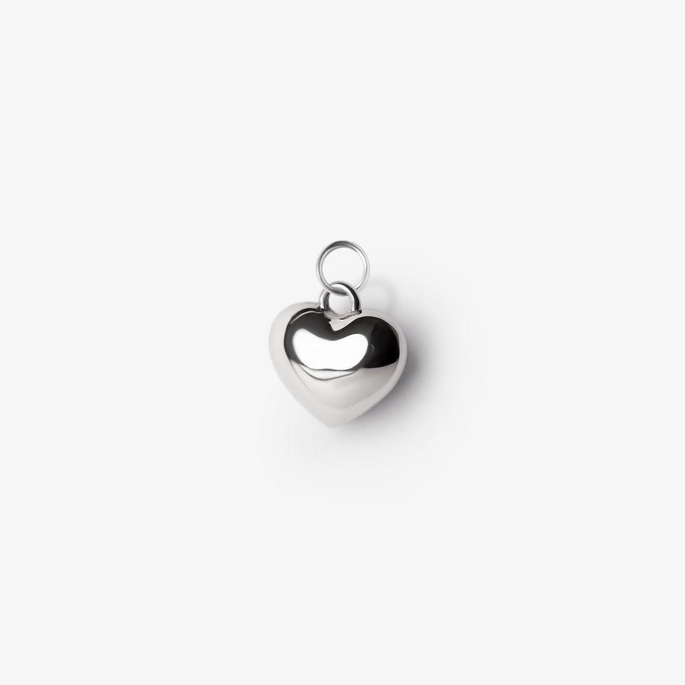 подвес дутое сердце